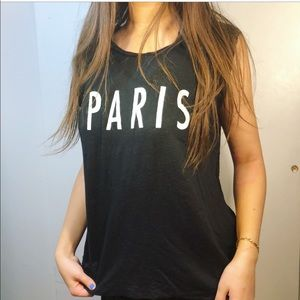 Madewell Paris Sleeveless Gym Muscle Tee